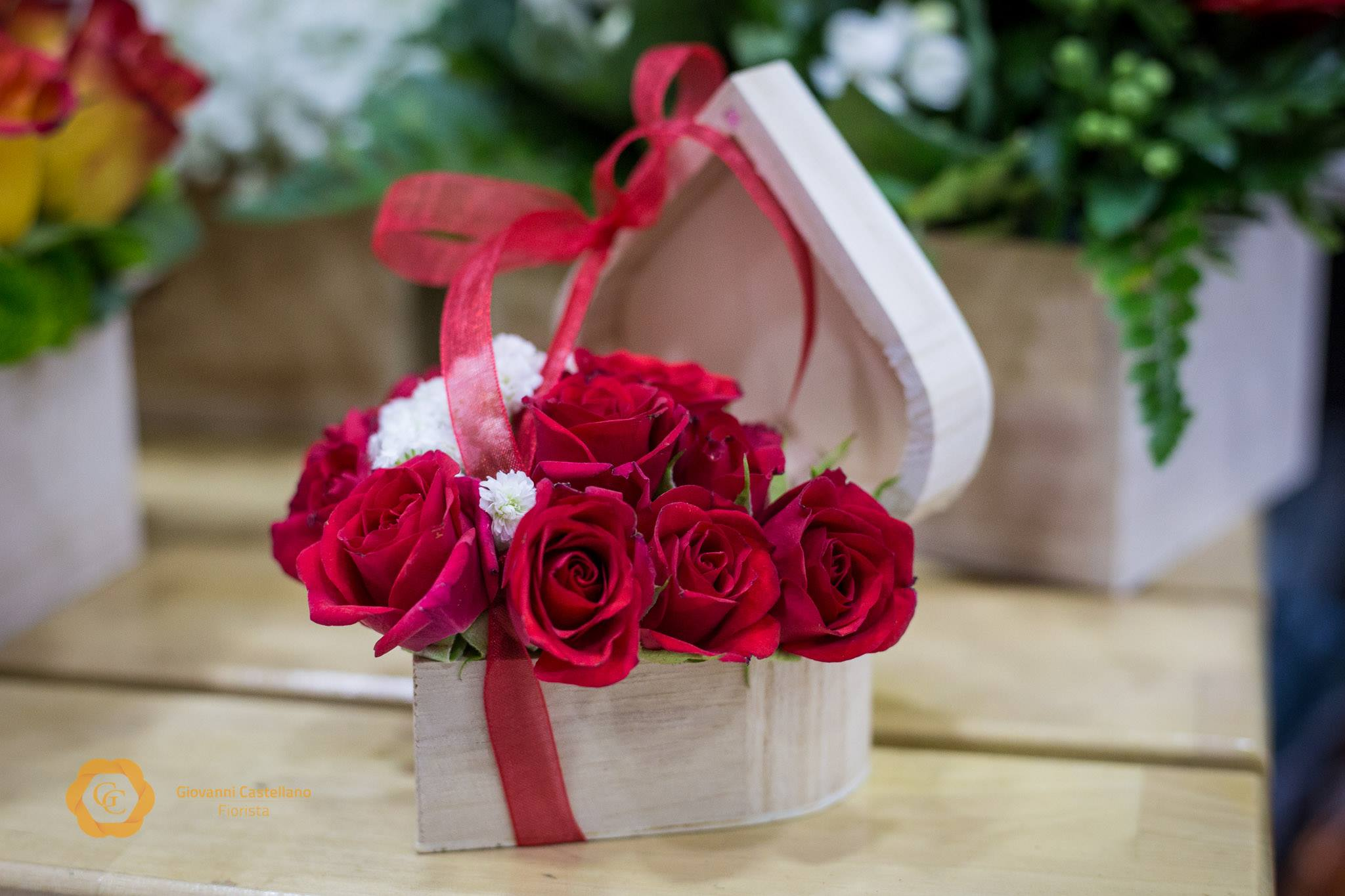 Top Proposal heart florals